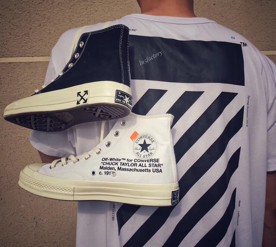 News - Un nouveau visuel des prochaines Converse Chuck Taylor x Off White